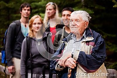 Elderly Man Tour Guide