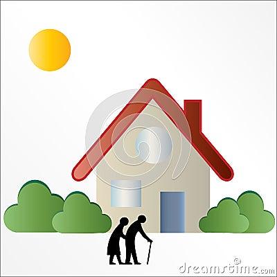 Elderly / Seniors Housing Logo Sign