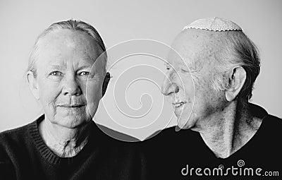 犹太夫妇的eldery