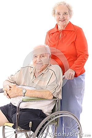 Free Eldery Couple Stock Image - 3716461
