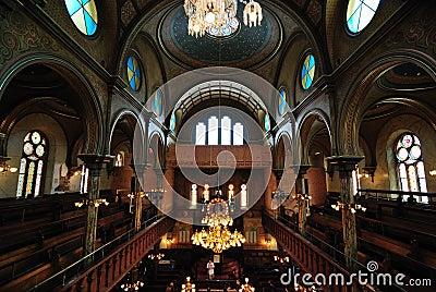 Eldridge Street Synagogue Interior Editorial Photography