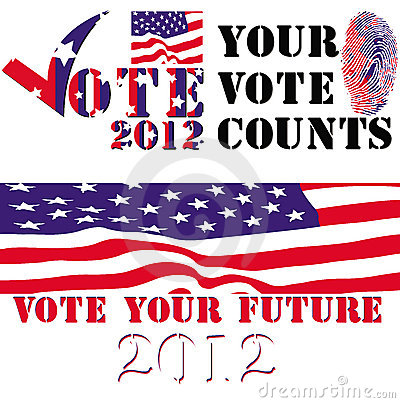 Election 2012 badges