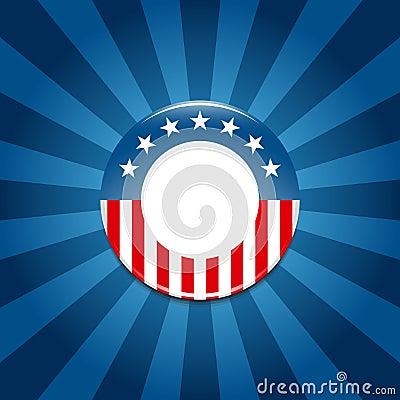 Election campaign button