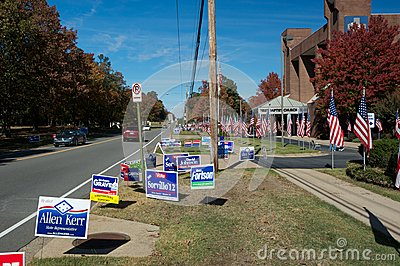 Election Day Editorial Stock Photo