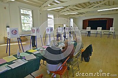 Election volunteers Editorial Image