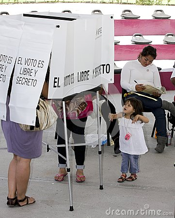 Elections in Mexico Editorial Stock Photo