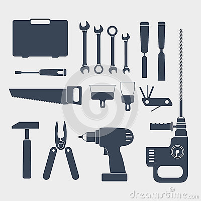 Free Electric And Handy Tools Stock Photos - 27621993