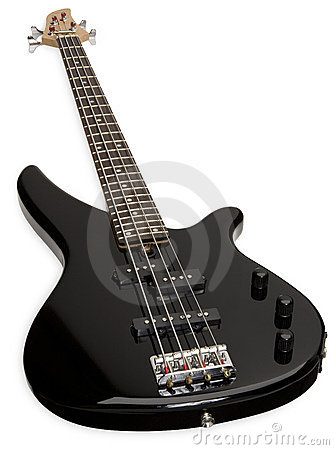 Free Electric Bass Guitar Royalty Free Stock Photo - 3446325