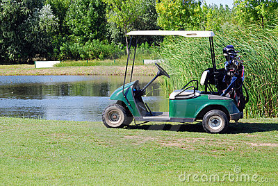 Electric buggy for golf