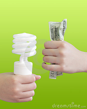 Electric Bulb and Money