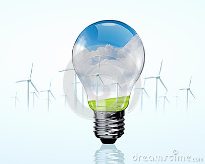 Electric bulb and windmill generators