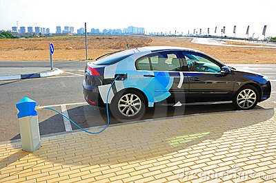 Electric Car Editorial Photography