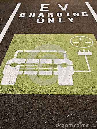 Electric Car Charging Bay