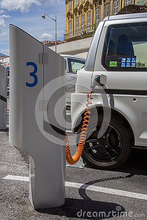 Electric Car - Charging Station