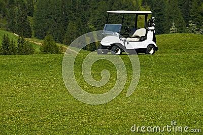 Electric car golf resort