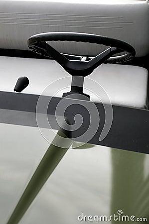 Electric car steering wheel