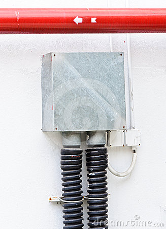 Electric control box