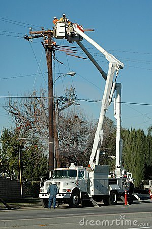 Electric Crew Working