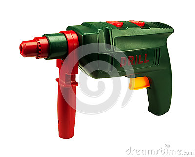 Electric drill toy