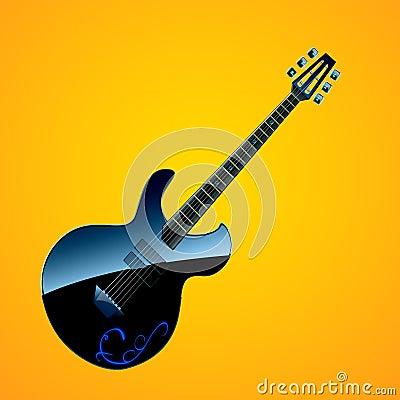 electric guitar royalty free stock images image 15083079. Black Bedroom Furniture Sets. Home Design Ideas