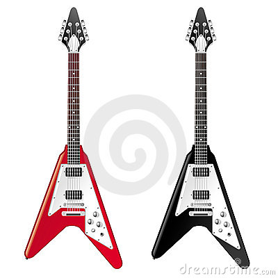 Free Electric Guitar Royalty Free Stock Photo - 9151635
