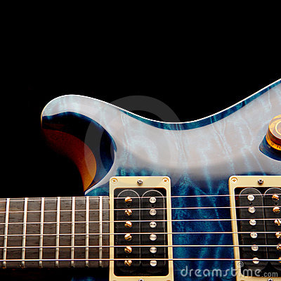 Free Electric Guitar Body Royalty Free Stock Images - 1417029