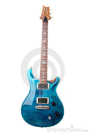 Free Electric Guitar Isolated Stock Photo - 10191100