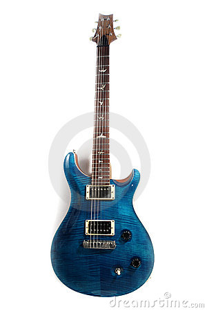 Free Electric Guitar Isolated Stock Photography - 6202822