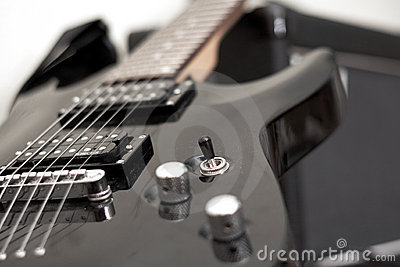Electric guitar, musical instrument