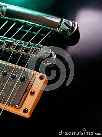 Guitar Pickups Too Close To Strings : electric guitar strings and bridge closeup stock images image 33063714 ~ Russianpoet.info Haus und Dekorationen