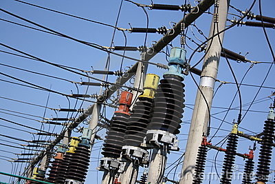 Electric high-voltage transformers