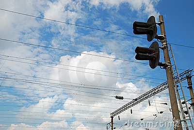 Electric infrastructure of the railway