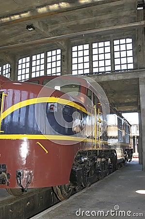 Free Electric Locomotive Royalty Free Stock Photos - 42799738