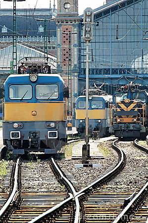 Free Electric Locomotives Royalty Free Stock Images - 2266079