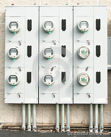 Free Electric Meters Stock Images - 32570444
