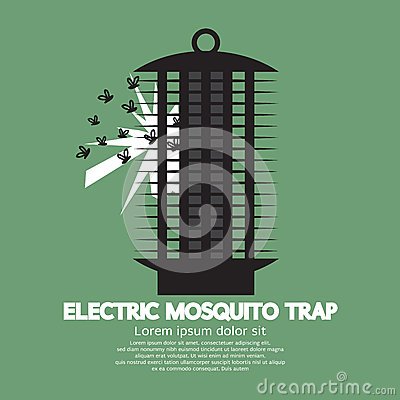 Free Electric Mosquito Trap. Royalty Free Stock Photos - 57426488
