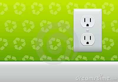 Electric outlet wallpaper