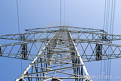 Electric overland power mast