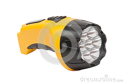 Electric pocket flashlight