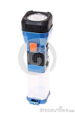 Electric pocket flashlight