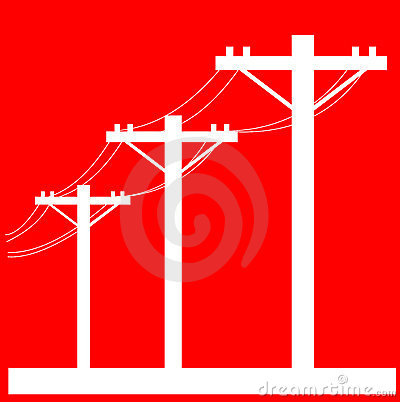 Gallery For Electric Power Lines Clipart