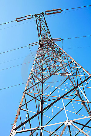 Electric power pole