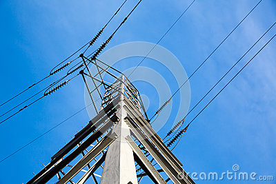 Electric Power Tower and Lines