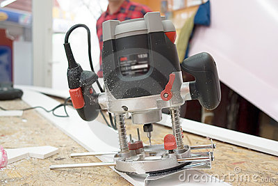 Electric Router Tool