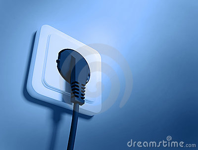 Electric Socket Stock Photo - Image: 9375940