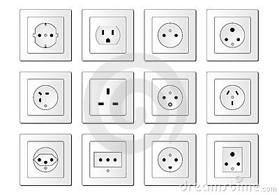 Electric sockets worldwide
