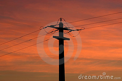 Electric sunset
