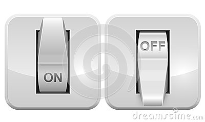 Electric switch web icon