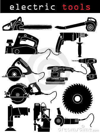 Free Electric Tools Royalty Free Stock Images - 10759199