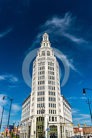 Free Electric Tower, A Historic Office Building In Buffalo, NY, USA. Built In 1912 Royalty Free Stock Photography - 95110387